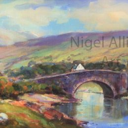 Evening light at Lecky Bridge - Copy