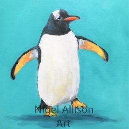 Penguin Blue 2